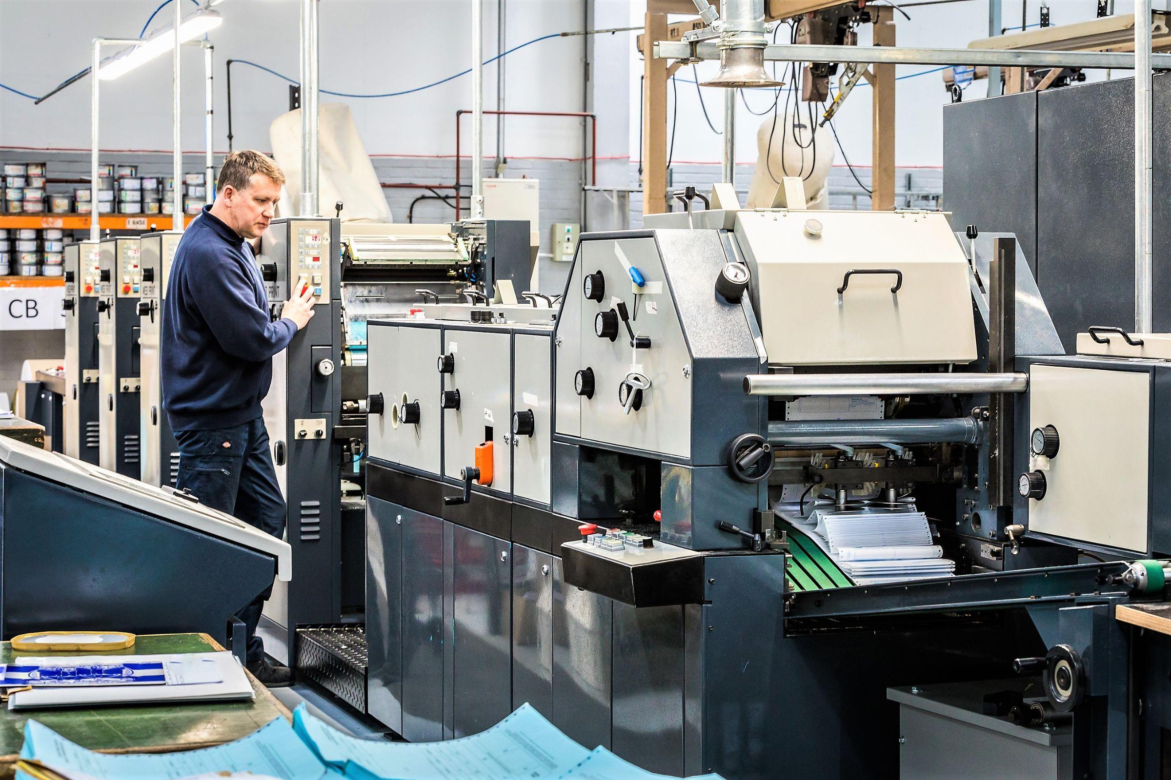 Web Printing, Reel Fed, Abbot Print